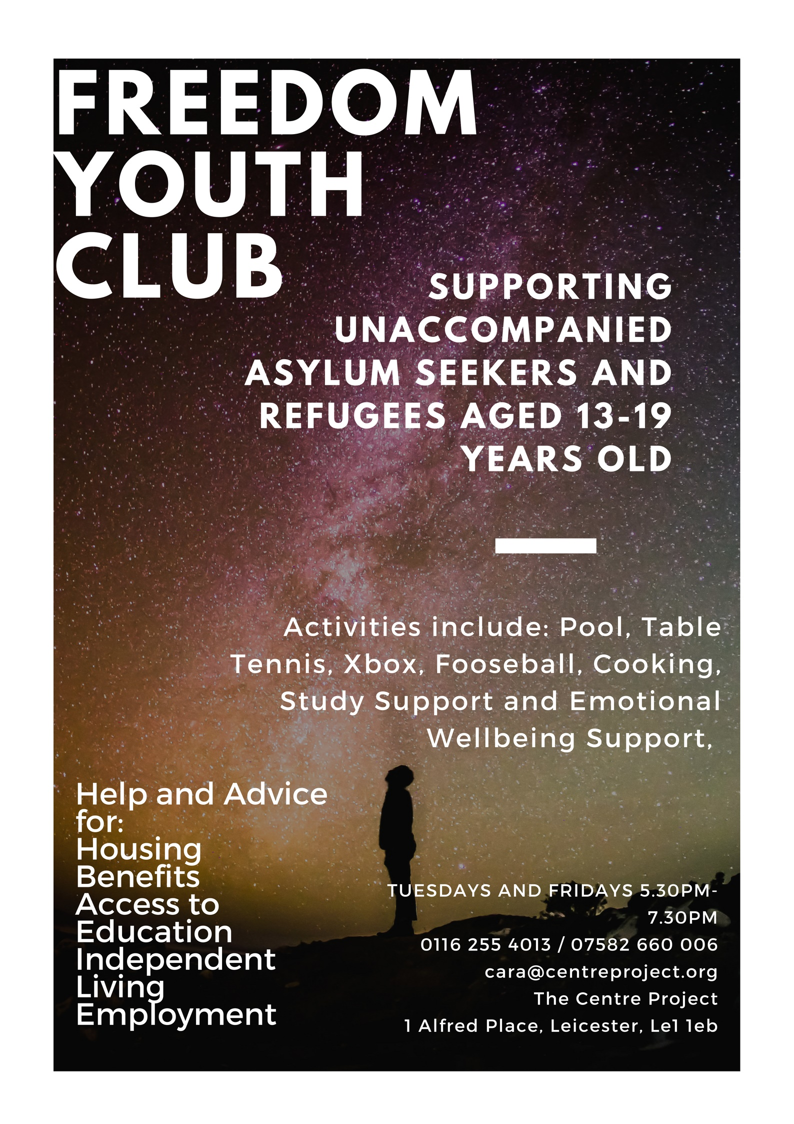 The Centre Project » Freedom Youth Club